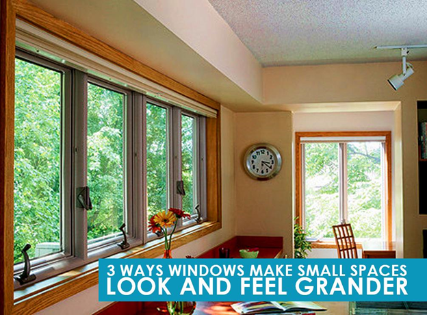 Ways Windows Make Small Spaces Look and Feel Grander