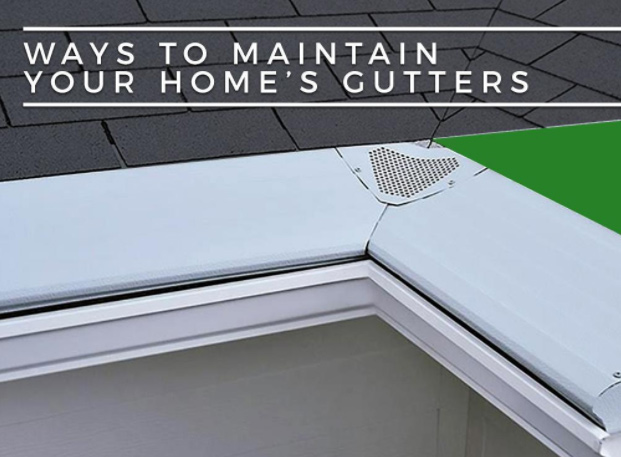 Ways to Maintain Your Home's Gutters