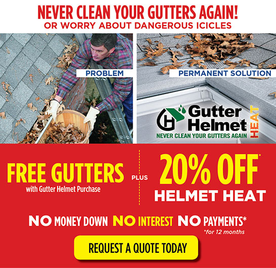 Heated Gutters With Helmet Heat Schenectady Ny Huff
